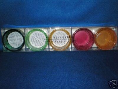 PIER 1 IMPORTS COLORFUL TEA LIGHT CANDLE HOLDERS NIB