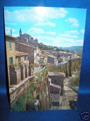 POST CARD~ITALY~ORVIETO LE MURA QUARTIERE MEDIOEVALE