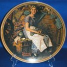 COLLECTOR PLATE NORMAN ROCKWELL DREAMING IN THE ATTIC