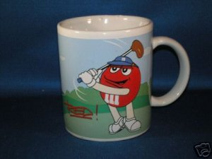M & M CHOCOLATE CANDY COFFEE MUG