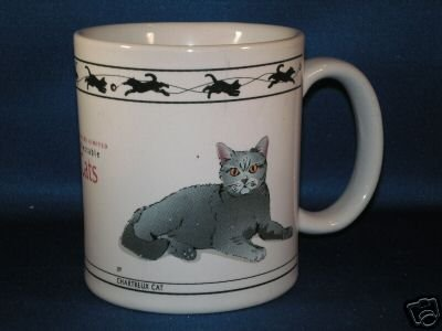 CAT LOVERS LIMITED COLLECTIBLE CATS COFFEE MUG