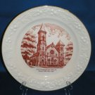 COLLECTOR PLATE 1st PRESBYTERIAN CHURCH SENECA FALLS NY
