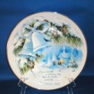 COLLECTOR PLATE COMMEMORATIVE CHRISTMAS 1978 CHIARA