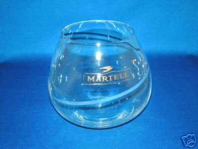 GLASSWARE AS SHOWN-MARTELL COGNAC GLASS