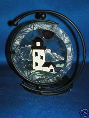 LIGHT HOUSE CANDLE HOLDER