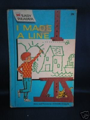 VINTAGE BOOK AS SHOWN~I MADE A LINE~1962