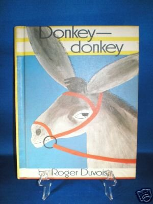 VINTAGE BOOK AS SHOWN~DONKEY-DONKEY~1968 	Item number: 390013295795