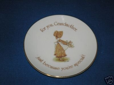 COLLECTOR PLATE HOLLY HOBBIE FOR YOU GRANDMOTHER
