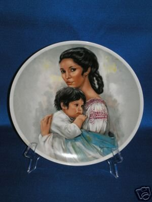 COLLECTOR PLATE ROYAL TETTAU ANNO 1983 INDIAN SQUAW