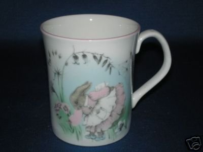 ELIZABETHAN MRS RABBIT BABY CUP BONE CHINA