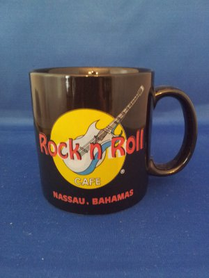 ROCK AND ROLL CAFE NASSAU BAHAMAS COFFEE MUG AS SHOWN