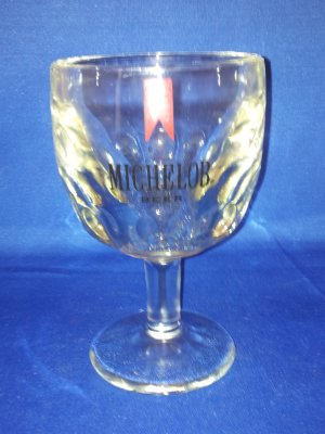 GLASSWARE AS SHOWN-MICHELOB BEER GOBLET GLASS