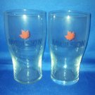 GLASSWARE AS SHOWN-SET OF 2 MOLSON BEER GLASSES