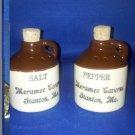 VINTAGE SALT AND PEPPER SHAKERS SET SETS SOUVENIR MERAMEC CAVERNS MO