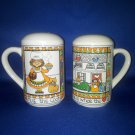 VINTAGE SALT AND PEPPER SHAKERS SET SUSAN MARIE MCCHESNEY
