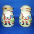 VINTAGE SALT AND PEPPER SHAKERS SET CHRISTMAS SANTA