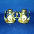 VINTAGE SALT AND PEPPER SHAKERS SET VIRGINIA CITY NEVADA TEA POTS