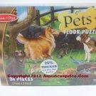 Melissa & Doug Pets Floor Puzzle - 24 Piece