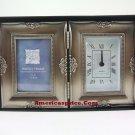 "Decorative 2"" x 3"" Photo Frame Clock"