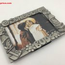 "School Buds  5"" x 3 1/2 "" Pewter Picture Frame"