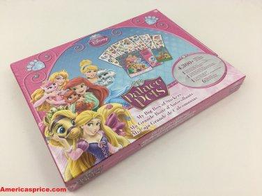 Disney Princess Palace Pets My Big Box Of Stickers - ST4262