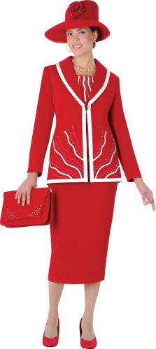 """Women in Red"" Suit Special"
