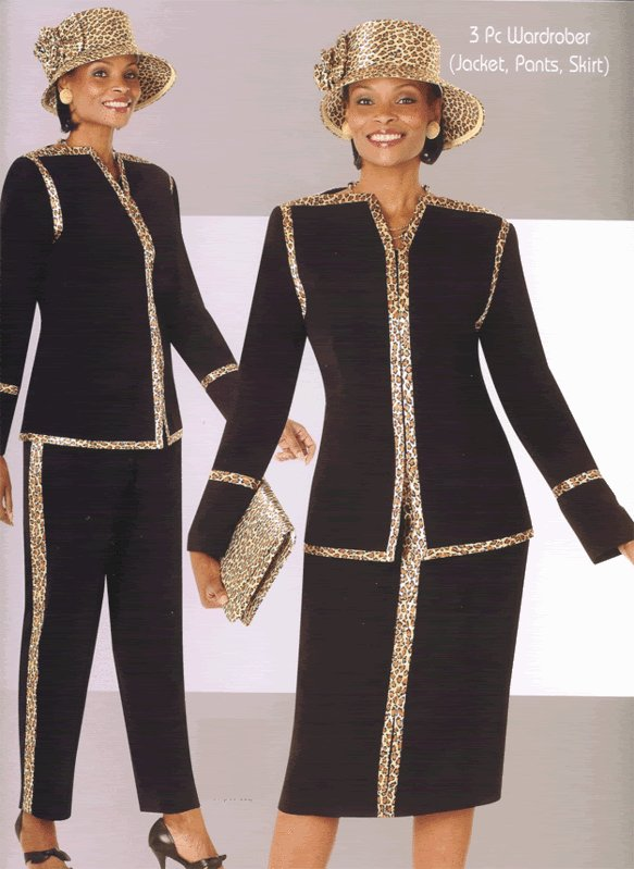 Woman's TERRAMINA 3-piece suit Size 26 in BLACK