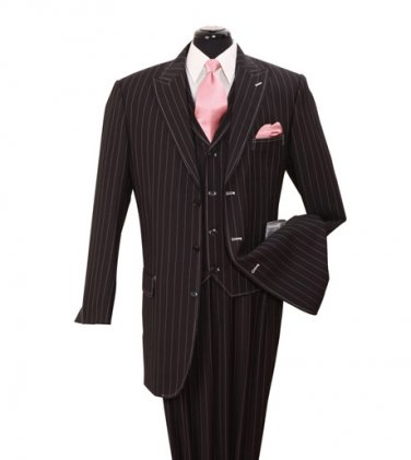 Men's 3 PC Suit with Stripes