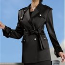 Donna Vinci 11161 Sequin Embelllished Epaulet Safari Style 2pc Suit