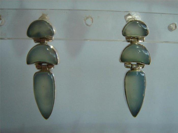 green matching antique style cz dangler earing jewelery