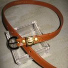 Dooney & Bourke light brown belt small