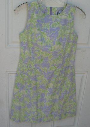 Lilly Pulitzer dress Purple Green Island print Size 2