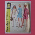 McCall's Vintage Sewing Pattern, #2593, Size 8, 1970, Misses Dress or Top and Pants
