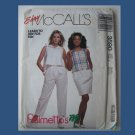 McCall's Vintage Sewing Pattern, #3590, Size Small (10-12), 1988, Misses Tops, Skirt & Pants