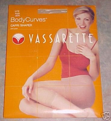 "VASSARETTE BODY CURVES CAPRI SHAPERS BRAND ""NEW"" IN FACTORY BOX."
