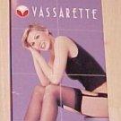 VASSARETTE HER SECRET BLACK STOCKINGS IN SEAL FACTORY PACKAGE