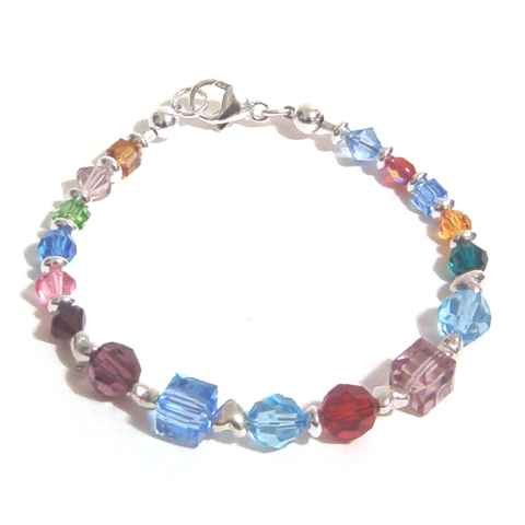 Family Birthstone Bracelet - Multi Generations