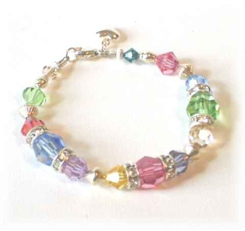 CRYSTAL CANDY Bracelet - Child's Bracelet