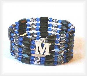 Magnetic Hematite Wrap Bracelet, Anklet, Necklace