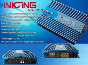 Car  Amplifier  AS-320