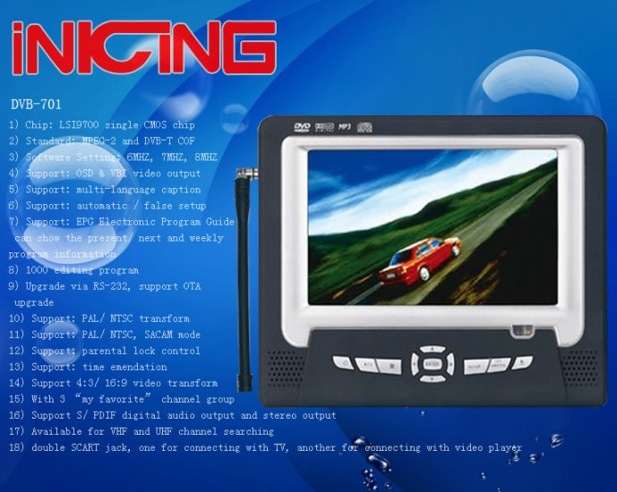 Digital TV DVB-701