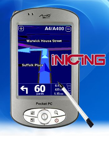 Pocket PC with GPS  P-350
