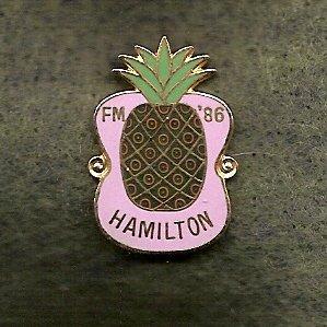 Hamilton YMCA Folksmarch Lapel Pin