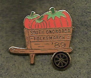 South Onondaga YMCA Folksmarch Lapel Pin