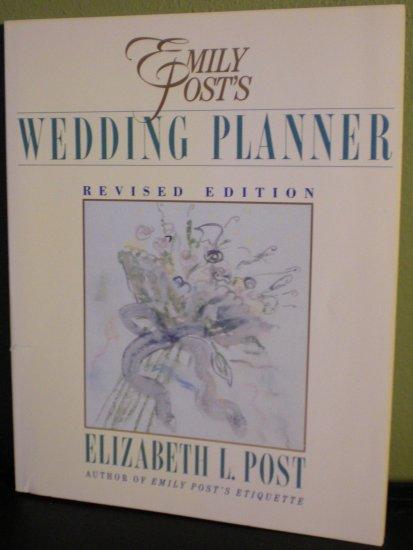 Emily Post's Wedding Planner