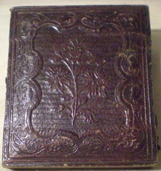Antique Union Case Photo Holder