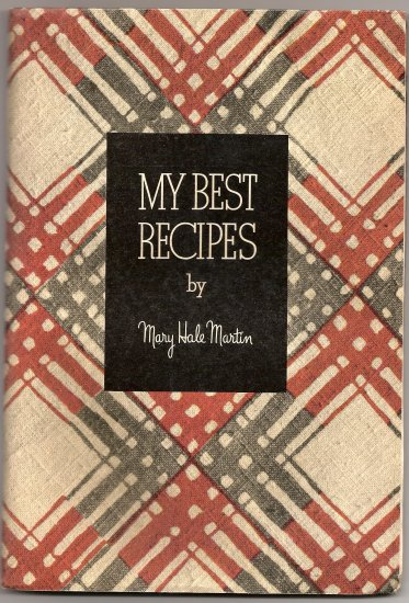 1936 Libby's Cook Book by Mary Hale Martin