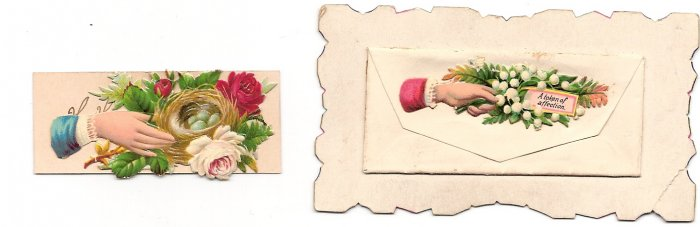 Victorian Calling Cards - Envelope Style