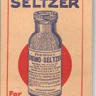 1930s Bromo-Seltzer for Headaches Pocket Note Pad