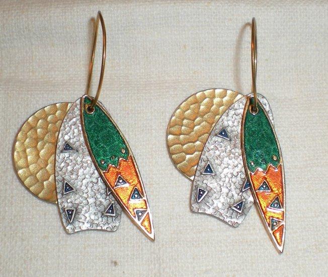 Berebi Hoop Earrings Ca 1980s